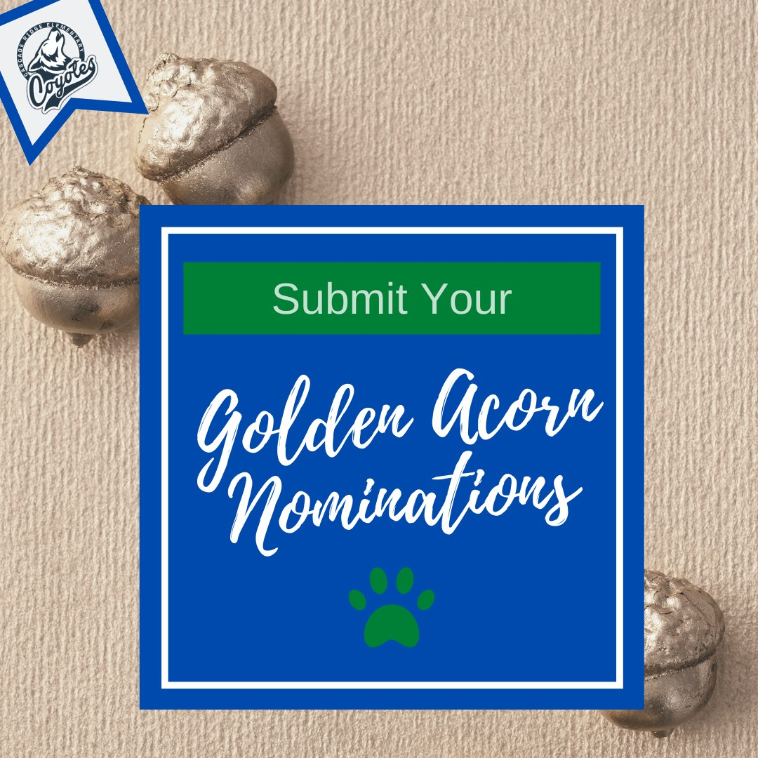 Golden Acorn Nominations