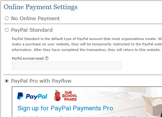 Add PayPal as a payment option