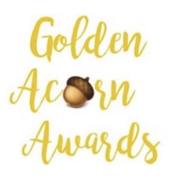 image of golden acorn