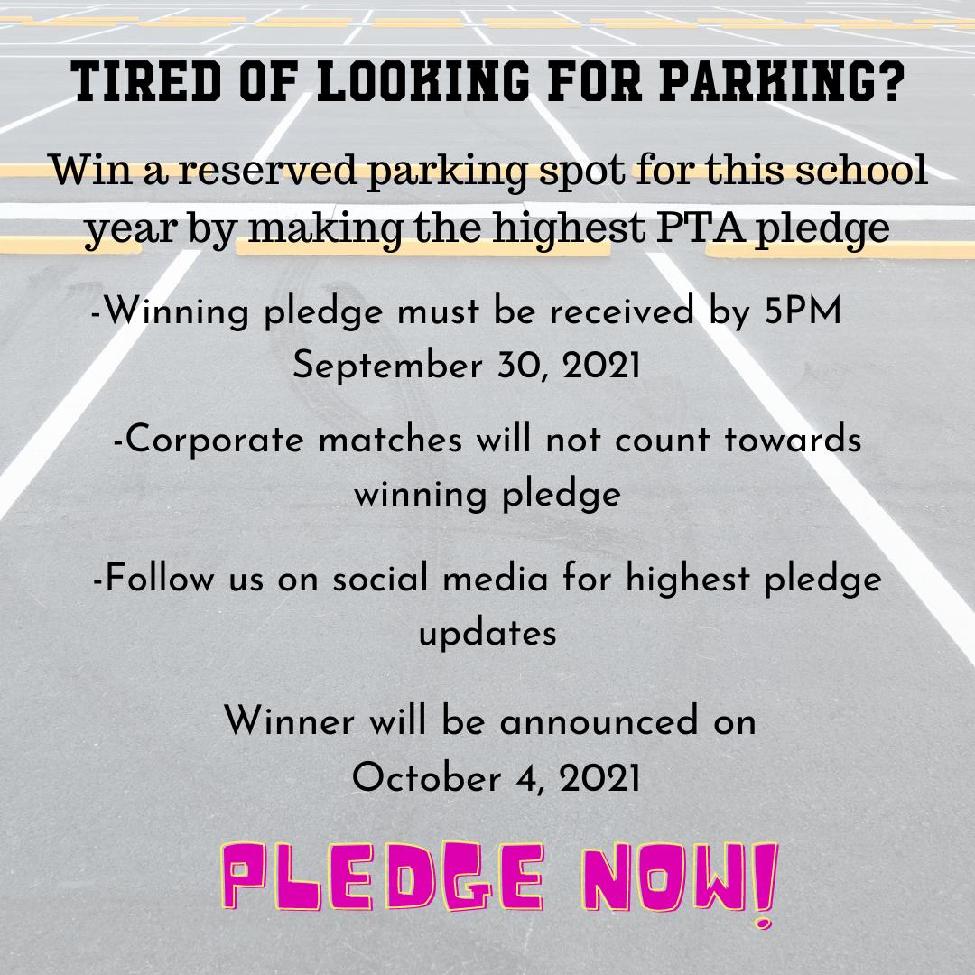 Pledge Parking