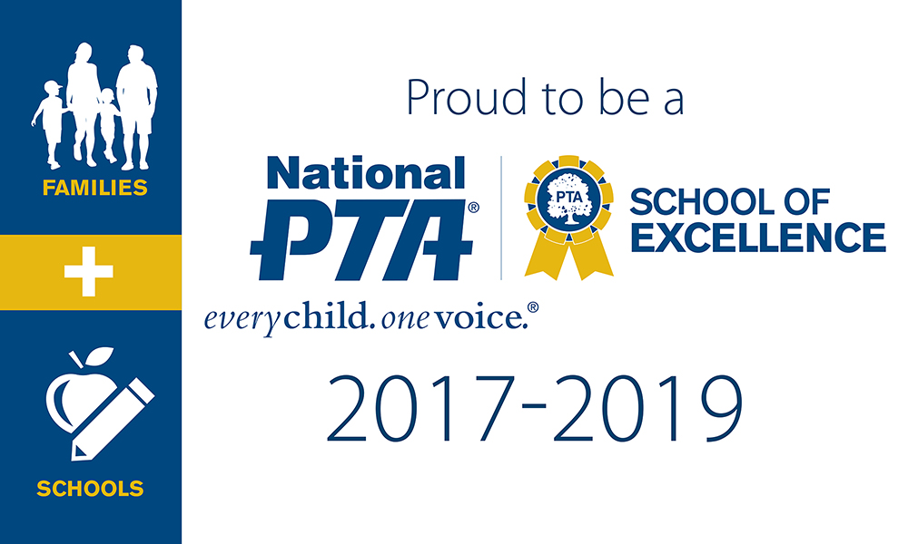 National PTA School of Excellence Award 2017-2019