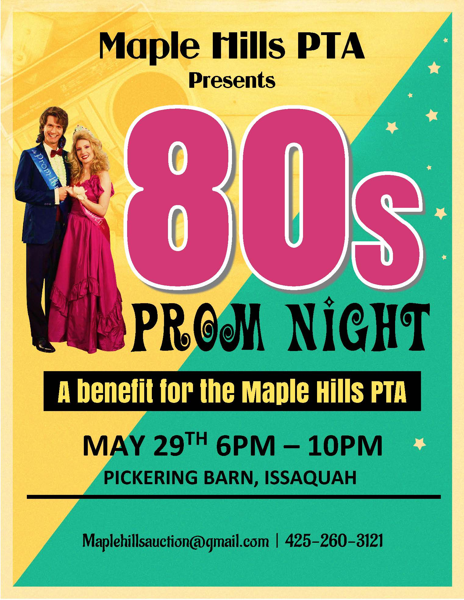 80's Prom: Online Auction