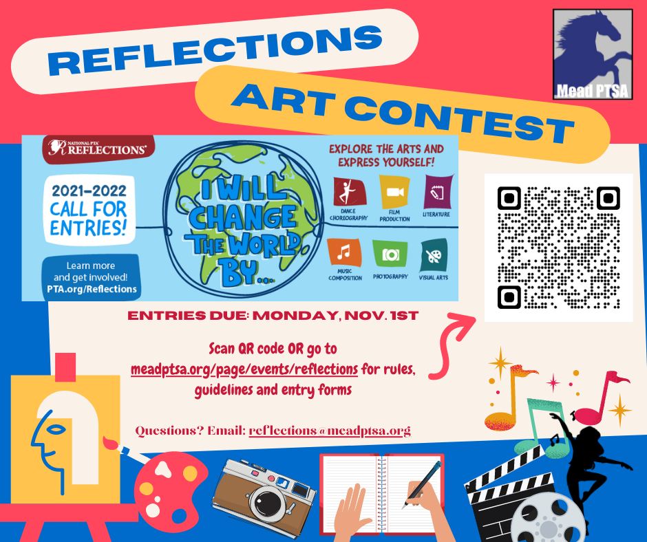 Reflections 2021 with details and QR code