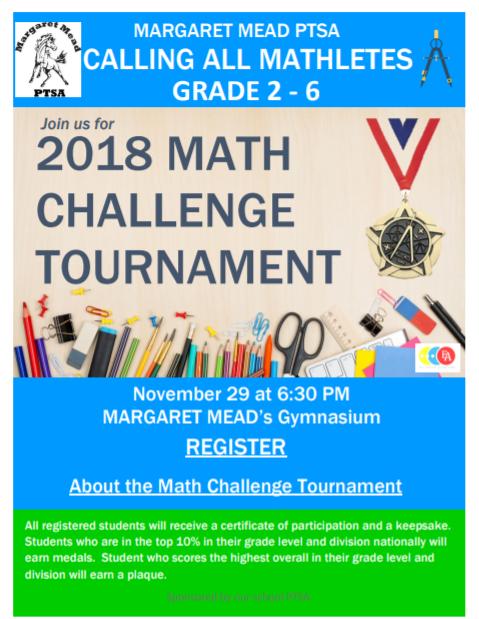 Math Challenge 2018