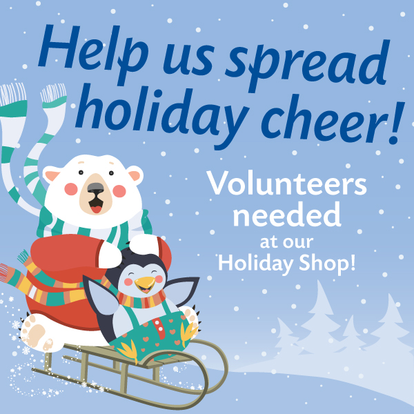 Holiday Shop Volunteers