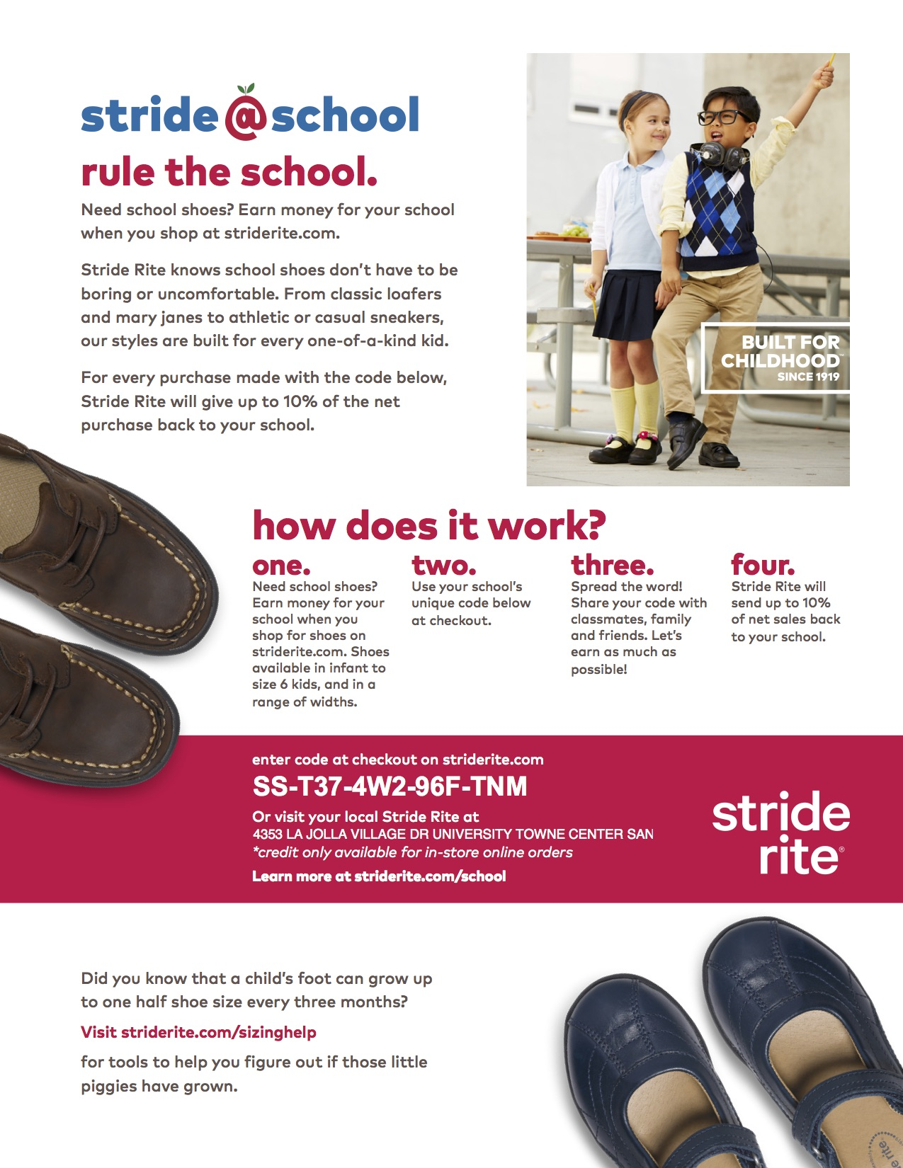 Stride-Rite Flyer