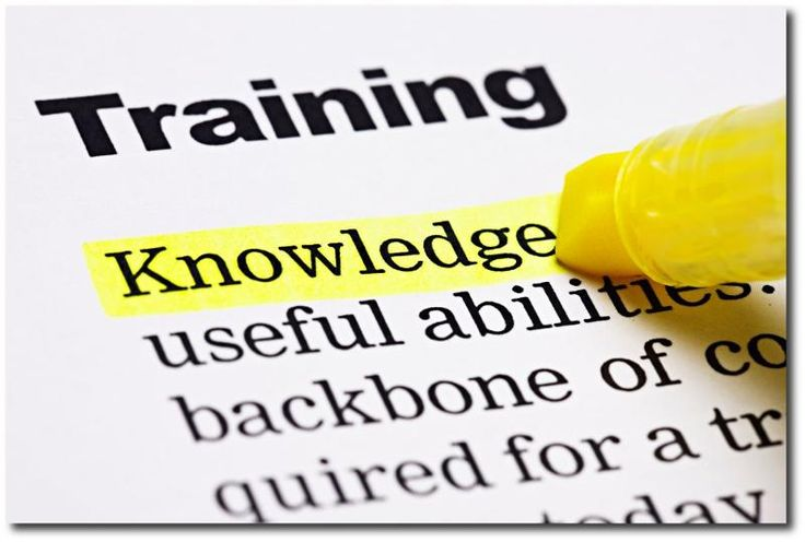 Training - Knowledge