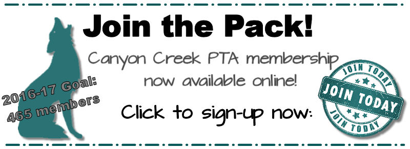 Canyon Creek PTA - Join Today!