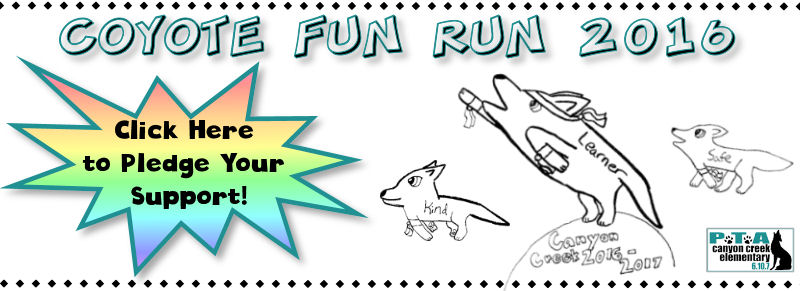 Coyote Fun Run -- Donate Online Today!