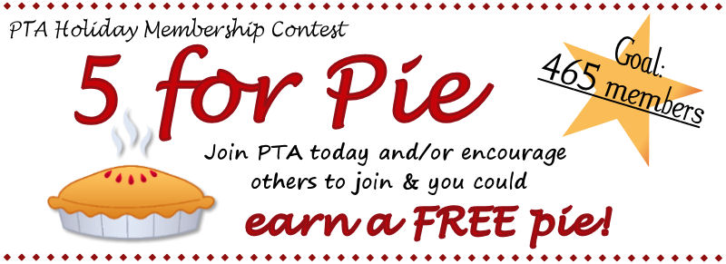 Canyon Creek PTA - 5 for Pie!