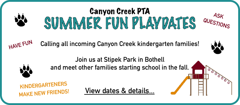 Northshore School District Calendar.Canyon Creek Pta