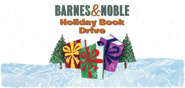 Barnes & Nobles Holiday Book Drive