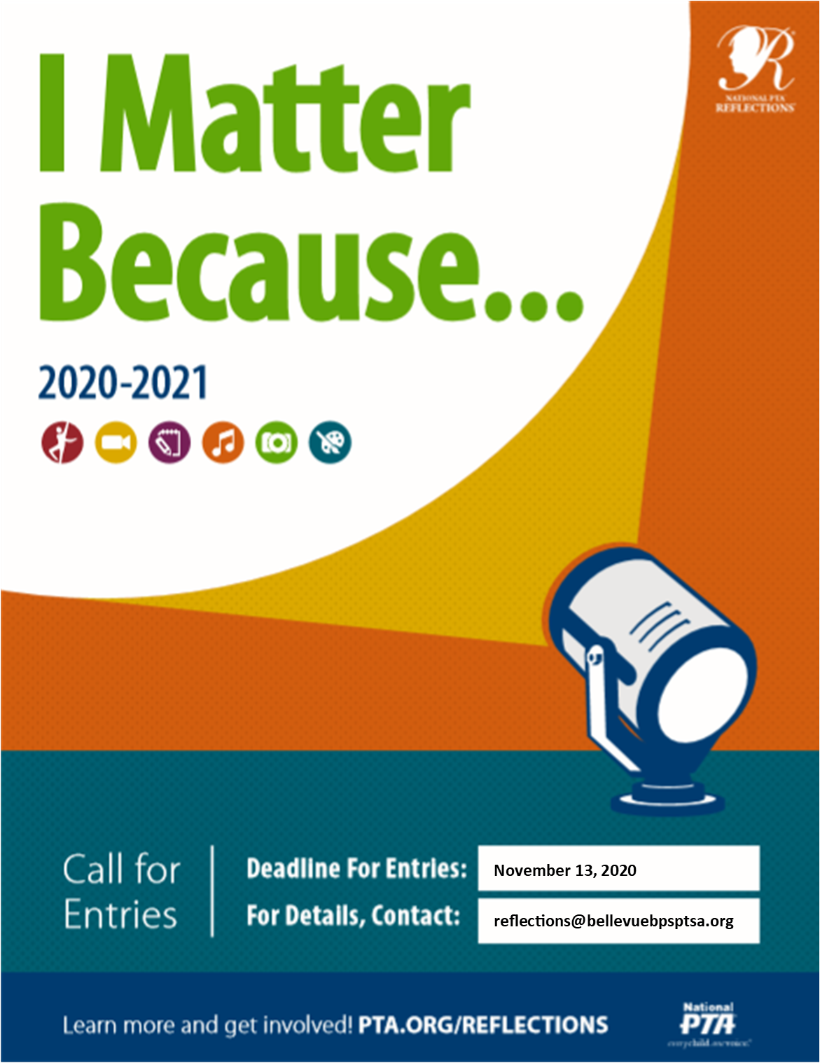 Reflections 2020-21 Poster